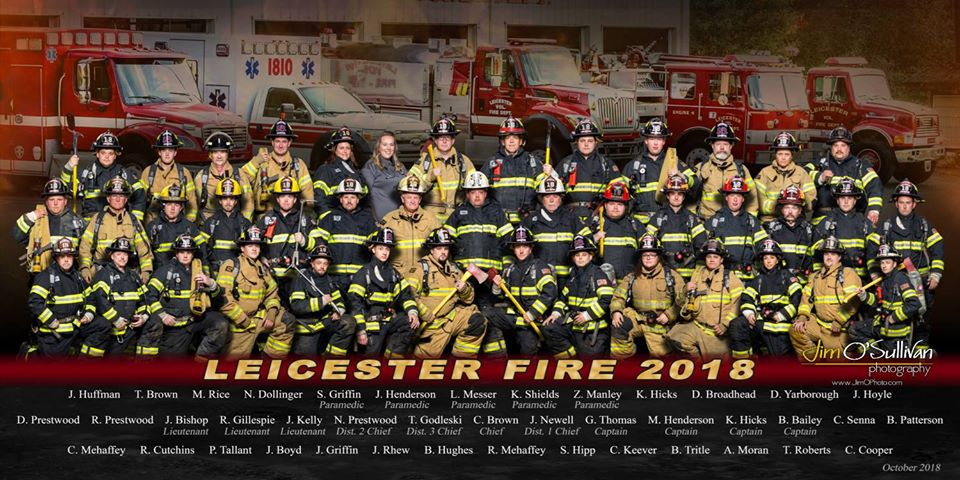 Leicester Fire Department Members, 2018