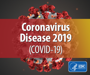 Coronavirus CDC Badge