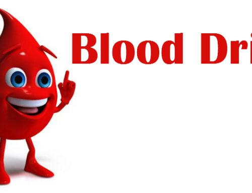 Blood Drive July 14th